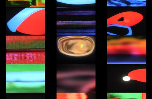 Mire, Orchestre de tables de mixage vidéo